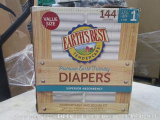 Earths Best Diapers