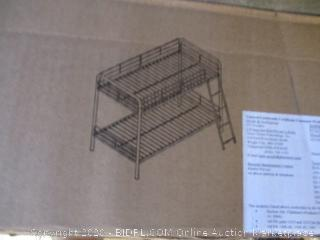 Twin Sized Metal Bunk Bed
