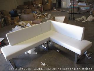 White L Couch