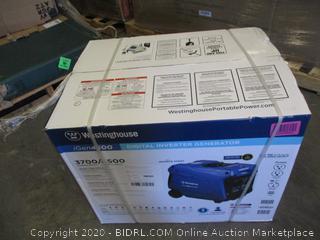 Westinghouse Digital Inverter Generator (See Pictures, $949 Retail)