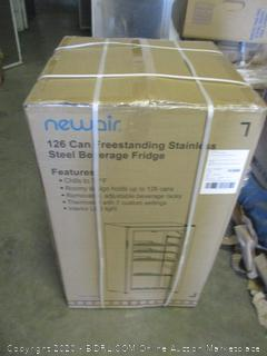 Newair Stainless Steel Beverage Fridge ($390 Retail)
