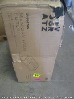 Novagratz Memory Foam Futon (See Pictures, $420 Retail)