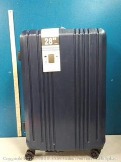 coolife 28 in Navy spinner suitcase