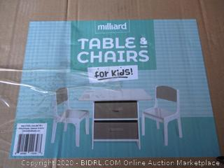 Millards Kids Table and Chair (Retail $93)