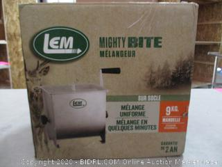 LEM Product 654 Stainless Steel Manual Meat Mixer (RETAIL $149)