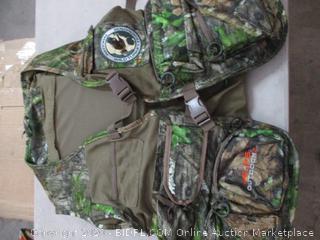 ALPS OutdoorZ NWTF Super Elite 4.0 Turkey Vest, M/L, Mossy Oak Obsession (RETAIL $59)