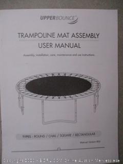 Upper Bounce Trampoline Mat