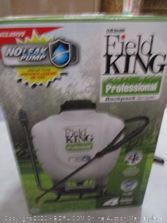 Field King Professional 190328 No Leak Pump Backpack Sprayer for Killing Weeds in Lawns and Gardens (RETAIL $90)