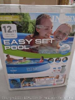 Intex 12ft X 30in Easy Set Pool Set with Filter Pump (RETAIL $84)