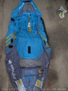 Sevylor Quikpak K1 1-Person Kayak (RETAIL $159)