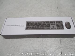 Wireless Keyboard and Mouse Combo incomplete missing parts