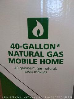 AOsmith 40 gallon natural gas mobile home(NEW)