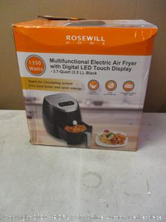 Rosewill Electric Air Fryer (Powers On)