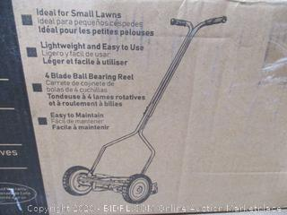 American Lawn Mower Co. - Push Reel Lawn Mower, 14""