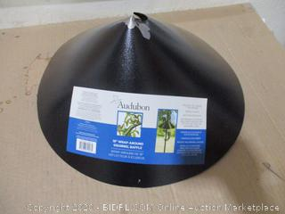 Audubon - Wrap-Around Squirrel Baffle, 18""