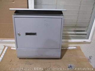 Modern Wall Mount Mailbox with Key