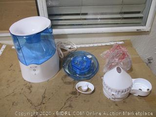 Crane - Warm Mist Humidifier and Steam Inhaler
