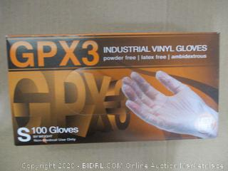 Ammex - Industrial Vinyl Gloves (Small)
