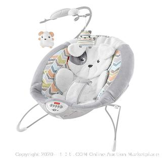 Fisher-Price - Deluxe Bouncer, Sweet Dreams Snugapuppy