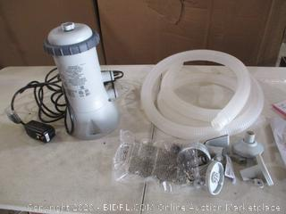Intex - Krustal Clear Cartridge Filter Pump for Above Ground Pools