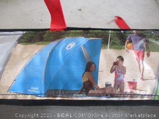 """Coleman - Beach Shade Shelter (7'6"""" x 4'5"""" x 4'9"""")"""