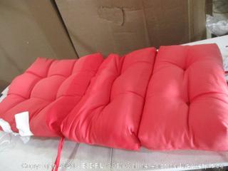 "AmazonBasics - High Back Chair Patio Cushion (24"" x 44"")"