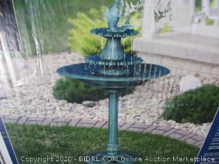 Alpine Corporation - 3-Tier Pedestal Water Bird Bath