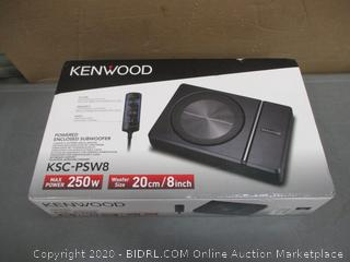 Kenwood Powered Enclosed Subwoofer