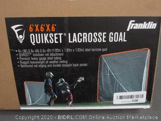 Franklin Quikset Lacrosse Goal