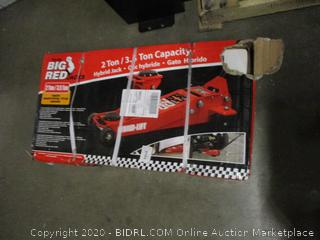 Big Red Jack 2 Ton  Possibly Missing parts