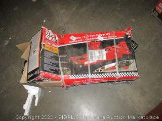 Big Red  2 Ton Possibly Missing parts