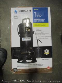 Burcam Grinder Pump for Sewage