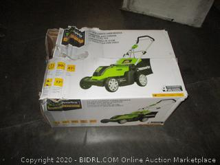 Greenworks Electric Lawn Mower possibly missing parts