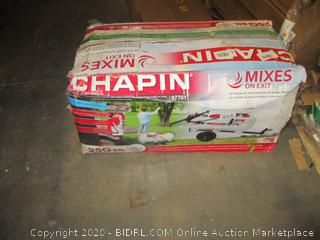 Chapin Mixes on exit Possibly missing parts