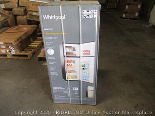 Whirlpool 2 Door Refrigerator/Freezer 4.6 Cubic Foot  reversible Doors