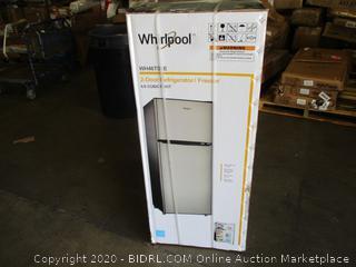 Whirlpool  2-Door Refrigerator/Freezer 4.6 Cubic Feet