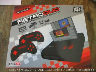 Retro-bit Retroduo  Twin Video game System V3.0 missinng pieces