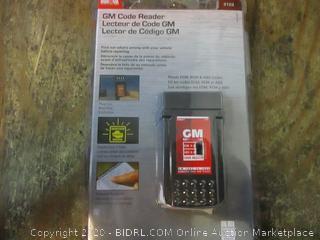 GM Code Reader