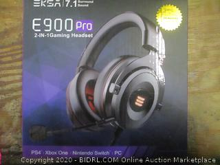 E900 Pro 2 in 1 Gaming Headset