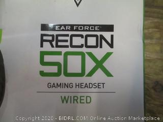 Turtle Beach Ear Force recon 5X Gaming Headset Wired