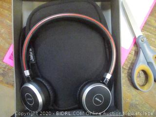 Jabra Evolve Wireless Headset  box damage