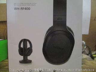 Sony Wireless Stereo Headphone system