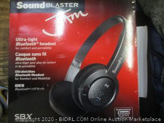 SoundBlaster Jam  Headset