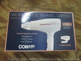 Conair worldwide Travel Dryer