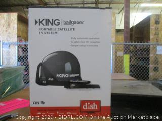 King Tailgater Portable Satellite TV SDish ystem