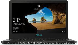"ASUS K570UD-ES76 Gaming Laptop Intel Core i7-8550U 1.80 GHz 15.6"" Windows 10 Home 64-Bit (powers on) (Online $1,500)"