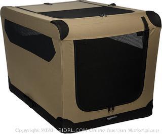 AmazonBasics Portable Folding Soft Dog Travel Crate Kennel (online $58)