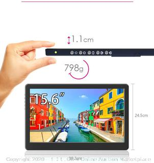 portable monitor on-lap 15031- 15.6 inch (online $290)