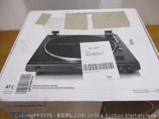 Audio-Technica At-LP60X-BK Fully Automatic Belt-Drive Stereo Turntable