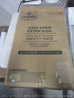 Regalo Metal Walk-Through Safety Gate